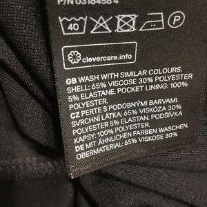 H&M Dresses - H&M black classic shift dress w long sleeves.
